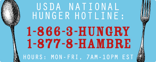 USDA National Hunger Hotline